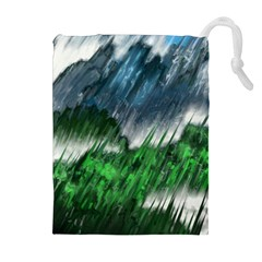Bluegreen Drawstring Pouches (extra Large)