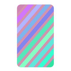 Pastel colorful lines Memory Card Reader