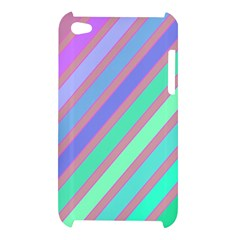Pastel colorful lines Apple iPod Touch 4