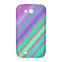 Pastel colorful lines Samsung Galaxy Grand GT-I9128 Hardshell Case