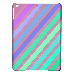 Pastel colorful lines iPad Air Hardshell Cases