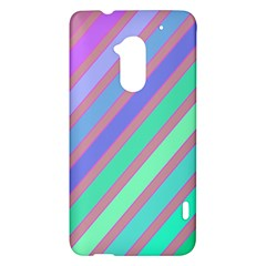Pastel colorful lines HTC One Max (T6) Hardshell Case