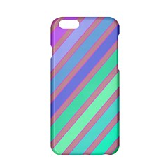 Pastel colorful lines Apple iPhone 6/6S Hardshell Case