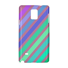 Pastel colorful lines Samsung Galaxy Note 4 Hardshell Case