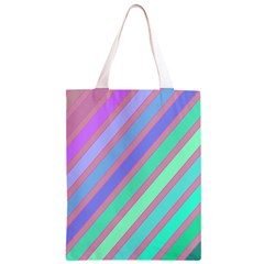 Pastel colorful lines Classic Light Tote Bag