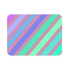Pastel colorful lines Double Sided Flano Blanket (Mini)
