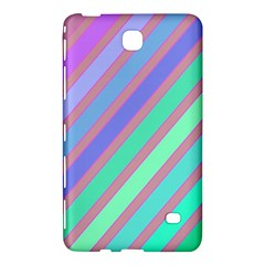 Pastel colorful lines Samsung Galaxy Tab 4 (8 ) Hardshell Case