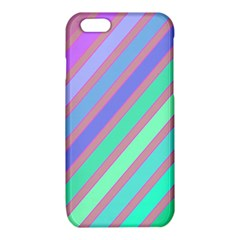Pastel colorful lines iPhone 6/6S TPU Case
