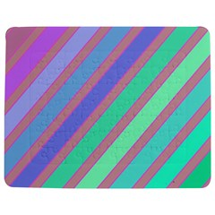 Pastel colorful lines Jigsaw Puzzle Photo Stand (Rectangular)