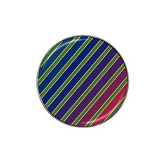 Decorative lines Hat Clip Ball Marker (10 pack)