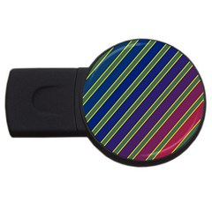 Decorative lines USB Flash Drive Round (4 GB)