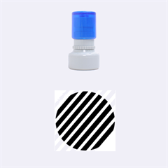 Decorative Lines Rubber Round Stamps (small)