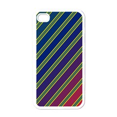Decorative lines Apple iPhone 4 Case (White)