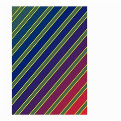 Decorative lines Small Garden Flag (Two Sides)