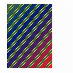 Decorative lines Large Garden Flag (Two Sides)