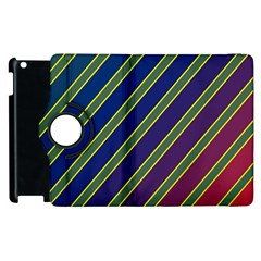 Decorative lines Apple iPad 3/4 Flip 360 Case