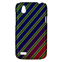 Decorative lines HTC Desire V (T328W) Hardshell Case