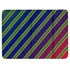 Decorative lines Samsung Galaxy Tab 7  P1000 Flip Case
