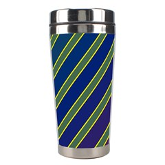 Decorative lines Stainless Steel Travel Tumblers