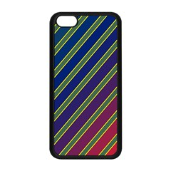Decorative lines Apple iPhone 5C Seamless Case (Black)