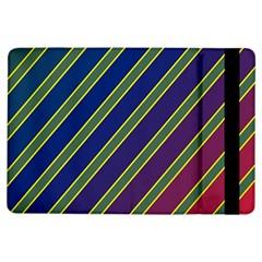 Decorative lines iPad Air Flip