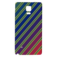 Decorative lines Galaxy Note 4 Back Case