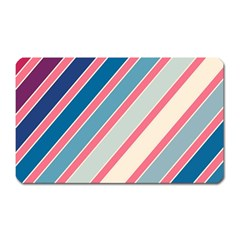 Colorful lines Magnet (Rectangular)