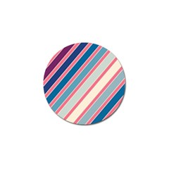 Colorful lines Golf Ball Marker (4 pack)