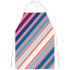 Colorful lines Full Print Aprons