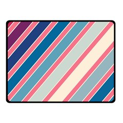 Colorful lines Fleece Blanket (Small)