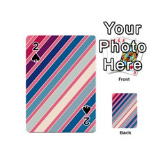 Colorful lines Playing Cards 54 (Mini)