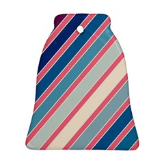Colorful lines Bell Ornament (2 Sides)