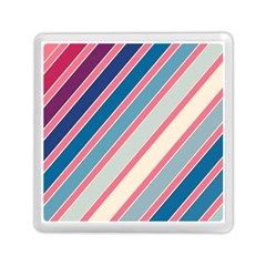 Colorful lines Memory Card Reader (Square)