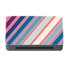 Colorful lines Memory Card Reader with CF