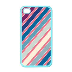 Colorful lines Apple iPhone 4 Case (Color)