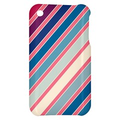Colorful lines Apple iPhone 3G/3GS Hardshell Case