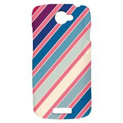 Colorful lines HTC One S Hardshell Case