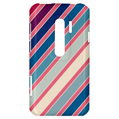 Colorful lines HTC Evo 3D Hardshell Case