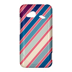 Colorful lines HTC Droid Incredible 4G LTE Hardshell Case