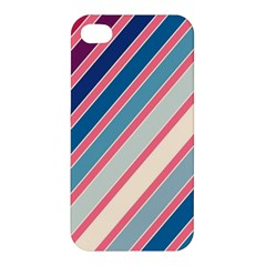 Colorful lines Apple iPhone 4/4S Premium Hardshell Case