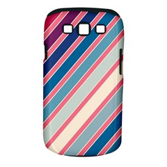 Colorful lines Samsung Galaxy S III Classic Hardshell Case (PC+Silicone)