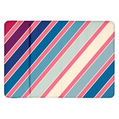 Colorful lines Samsung Galaxy Tab 8.9  P7300 Flip Case