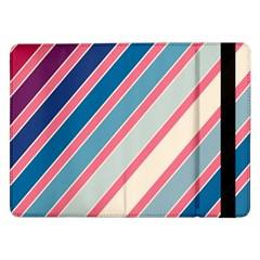 Colorful lines Samsung Galaxy Tab Pro 12.2  Flip Case