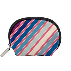 Colorful lines Accessory Pouches (Small)