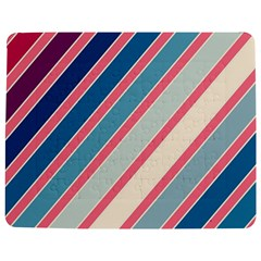 Colorful lines Jigsaw Puzzle Photo Stand (Rectangular)