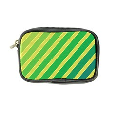 Green and yellow lines Coin Purse