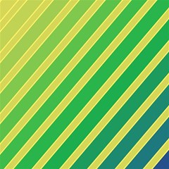 Green and yellow lines Magic Photo Cubes
