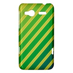 Green and yellow lines HTC Radar Hardshell Case