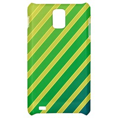 Green and yellow lines Samsung Infuse 4G Hardshell Case
