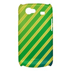 Green and yellow lines Samsung Galaxy Nexus S i9020 Hardshell Case